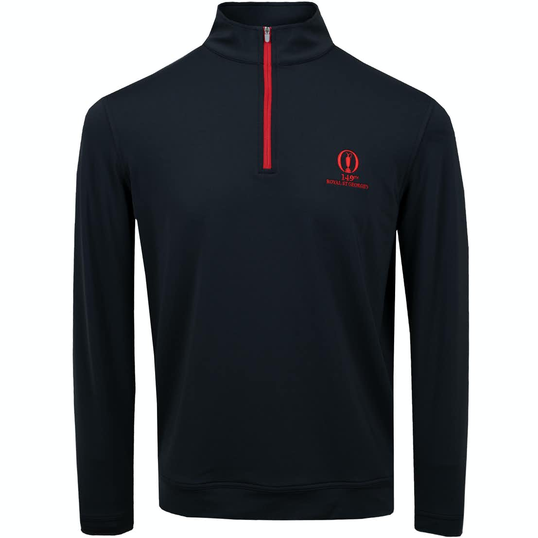 149th Royal St George's Full-Zip Sweater - Black