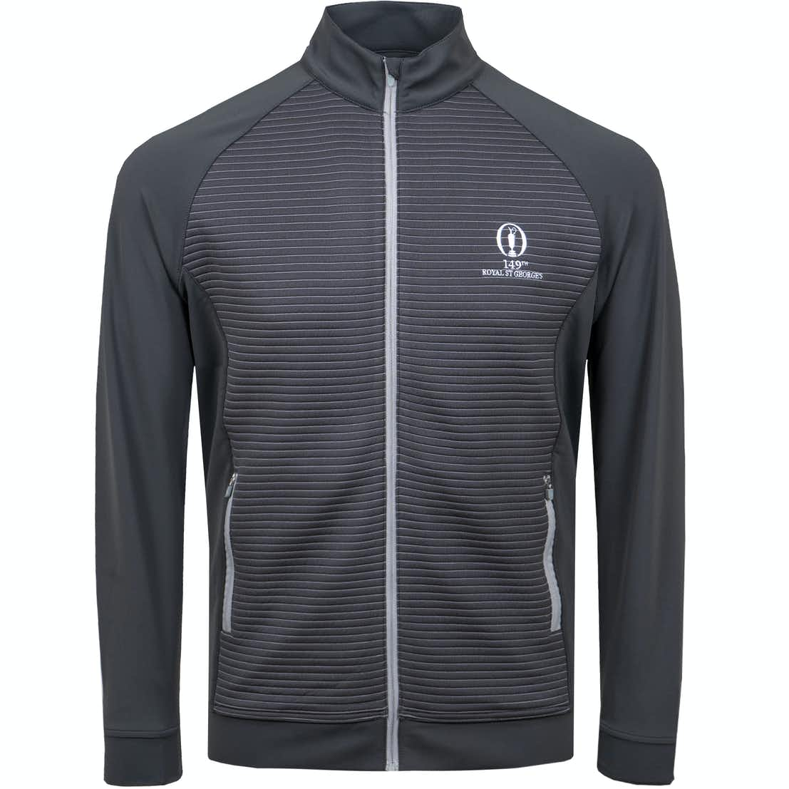 149th Royal St George's Full-Zip Sweater - Grey