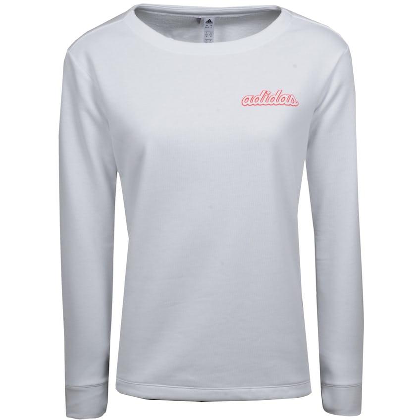 The Open adidas Crew Neck Sweatshirt - White