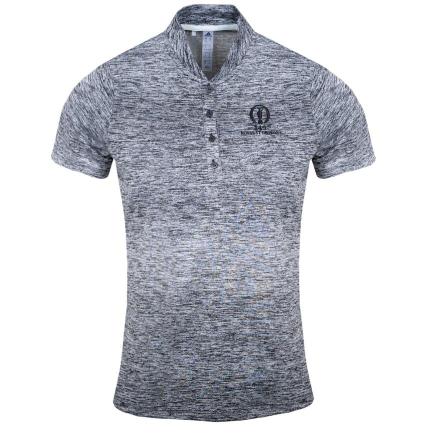 149th Royal St George's adidas Gradient Polo Shirt - Grey