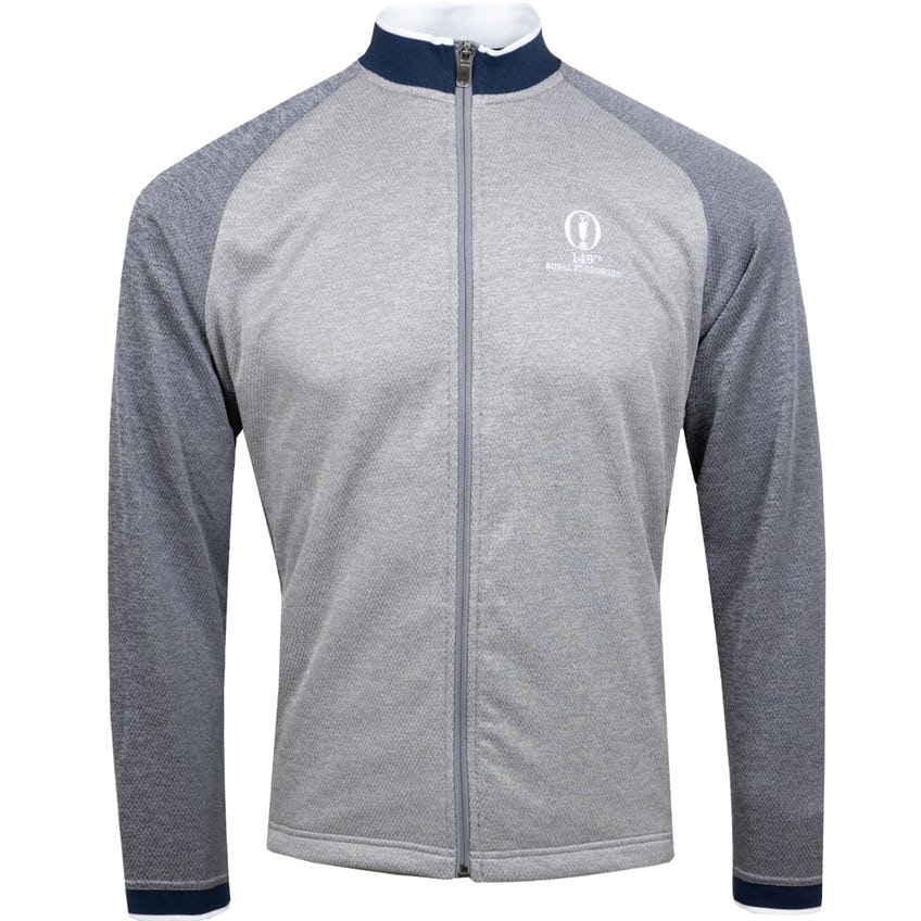 149th Royal St George's adidas Textured Layering Jacket - Grey 0