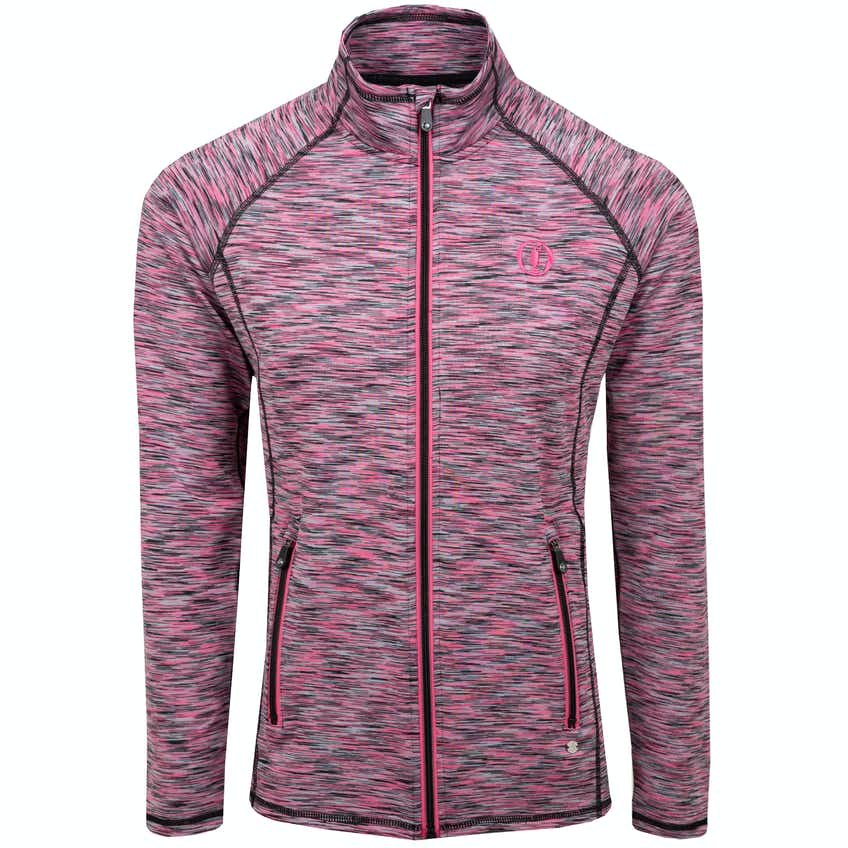 149th Royal St George's ProQuip 1/4-Zip Sweater - Pink and Black