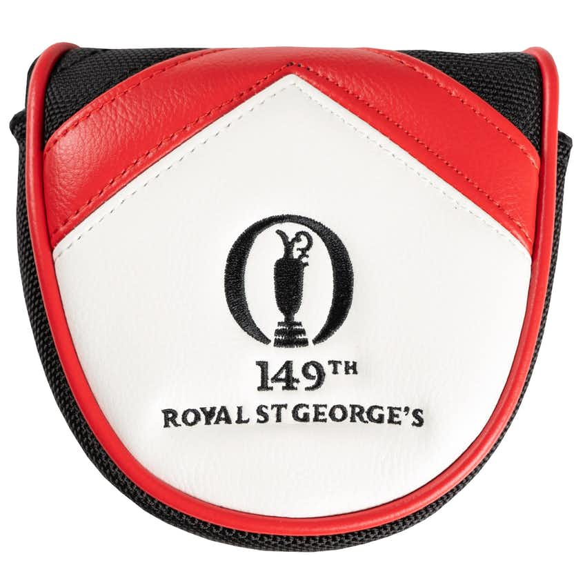 149th Royal St George's Mallet Putter Headcover - Black and White