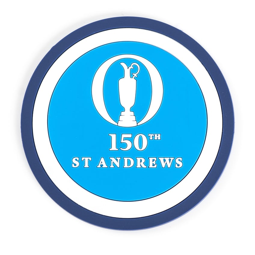 150th St Andrews Coaster Set - Blue, Navy and White 0
