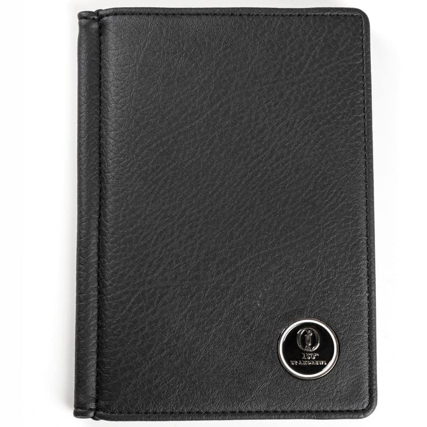 15th St Andrews Scorecard Holder - Black