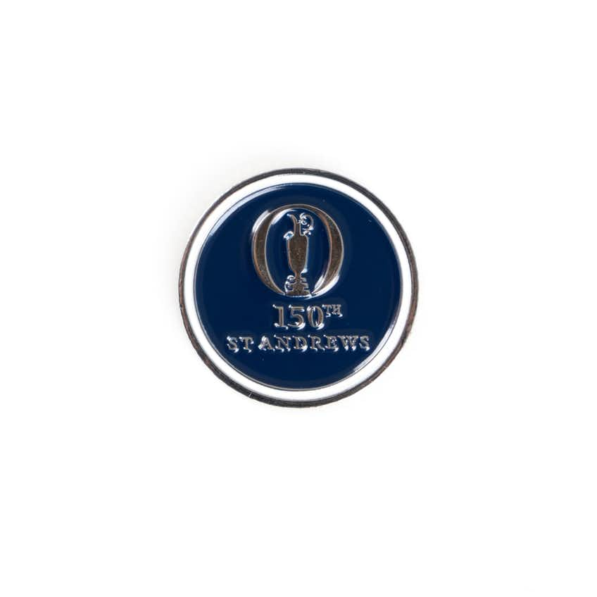 150th St Andrews Two-Sided Ball Marker - Navy And White