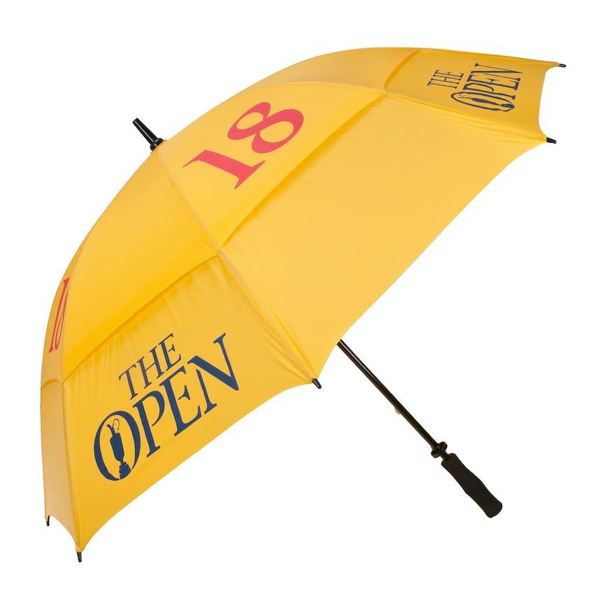 The Open Pin Flag Umbrella - Yellow