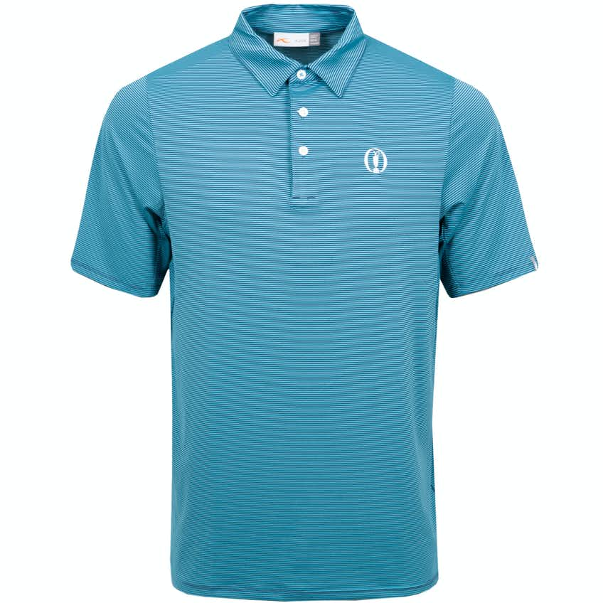 The Open KJUS Striped Polo Shirt - Blue
