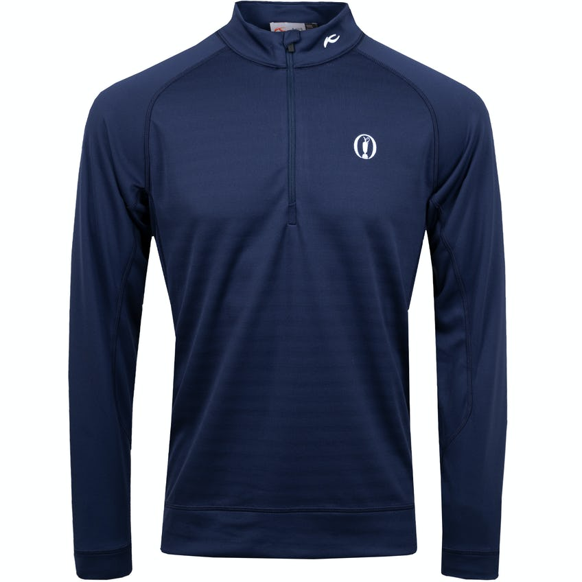 The Open KJUS 1/4-Zip Mid-Layer Pullover - Navy