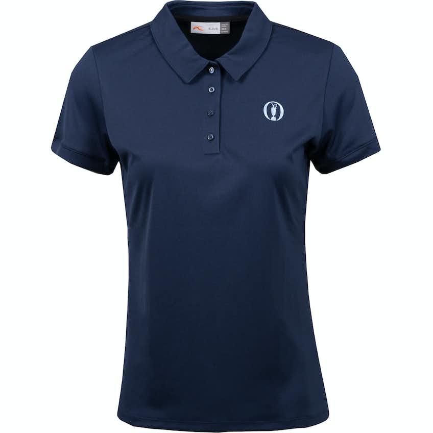 The Open KJUS Plain Polo Shirt - Navy