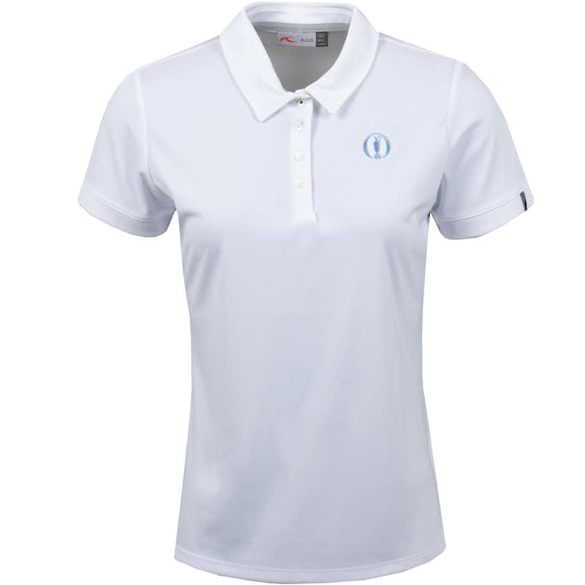 The Open KJUS Plain Polo Shirt - White