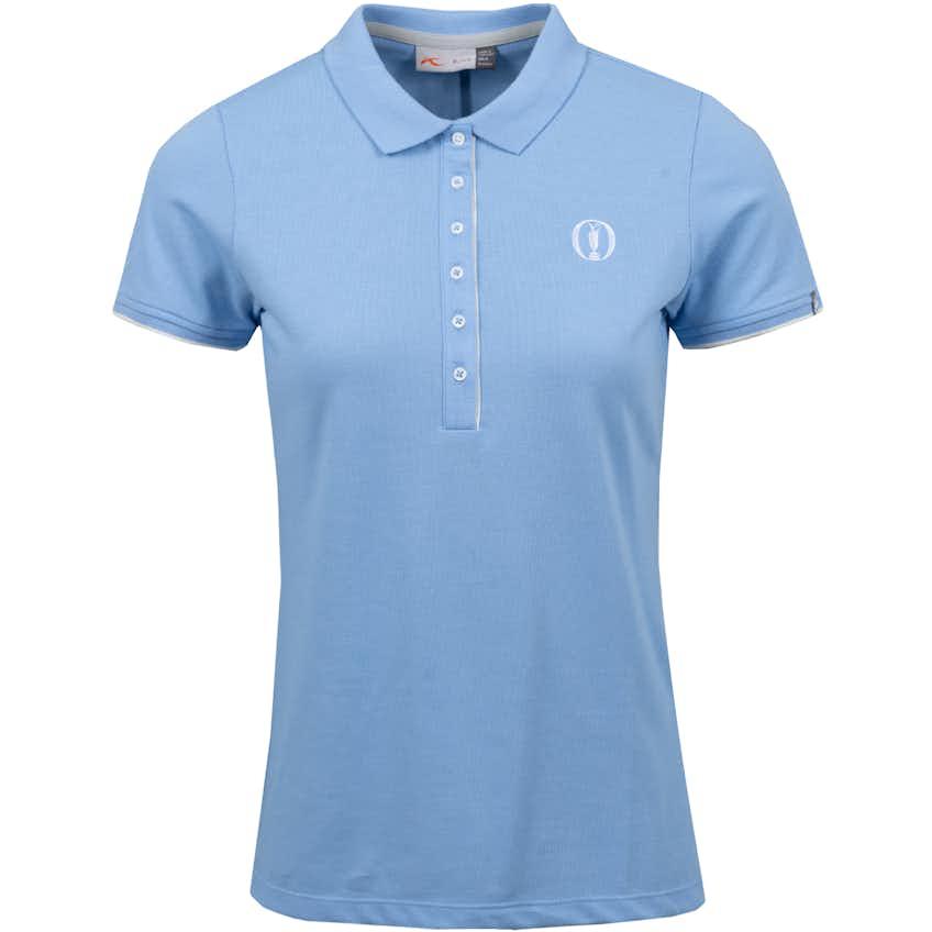 The Open KJUS Plain Polo Shirt - Blue