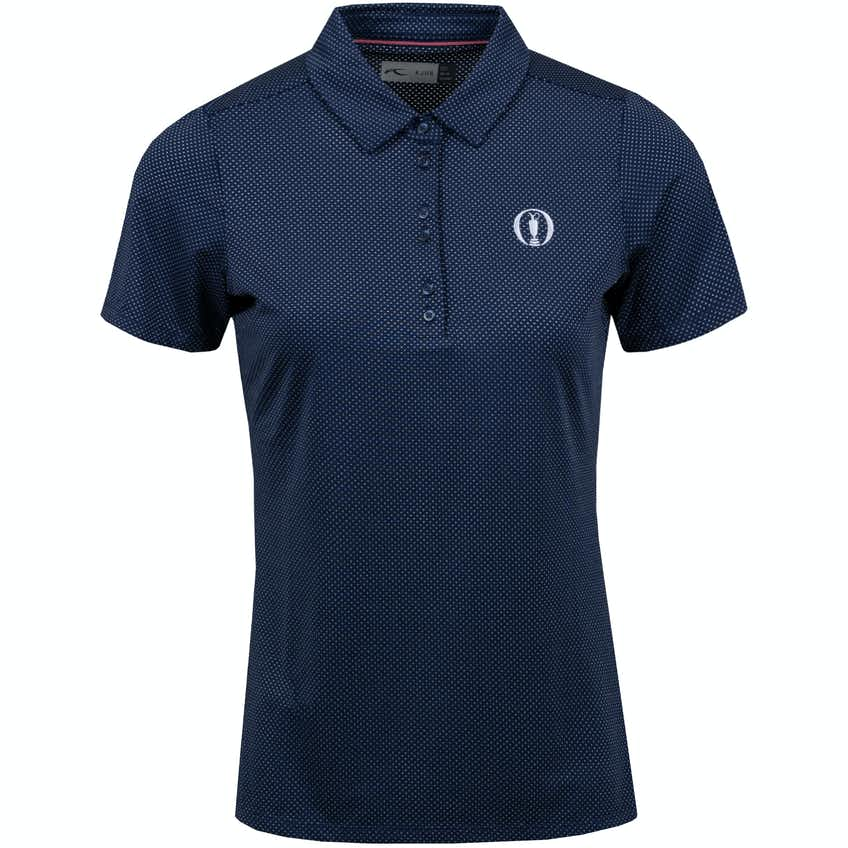 The Open KJUS Patterned Polo Shirt - Navy
