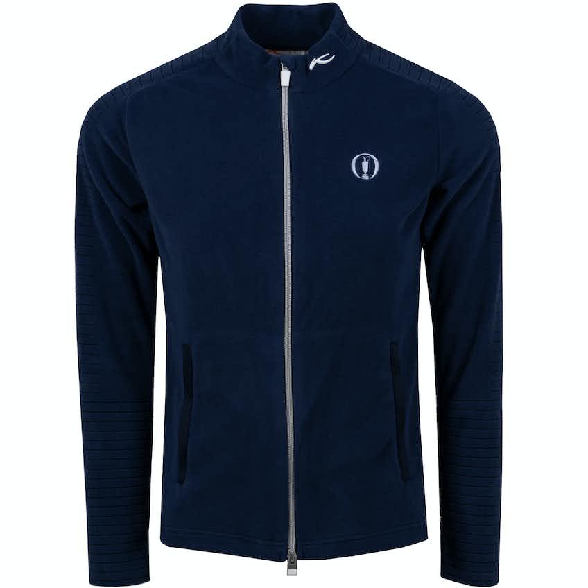 The Open KJUS Full-Zip Fleece Jacket - Navy
