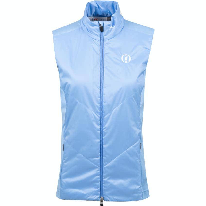 The Open KJUS Full-Zip Insulated Gilet - Blue