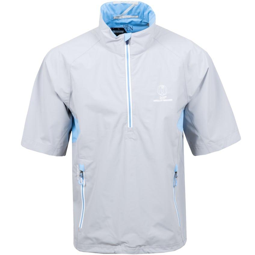 149th Royal St George's Zero Restriction Short-Sleeved Waterproof Jacket - Grey 0