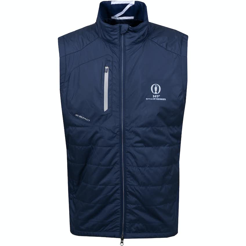 149th Royal St George's Zero Restriction Gilet - Navy