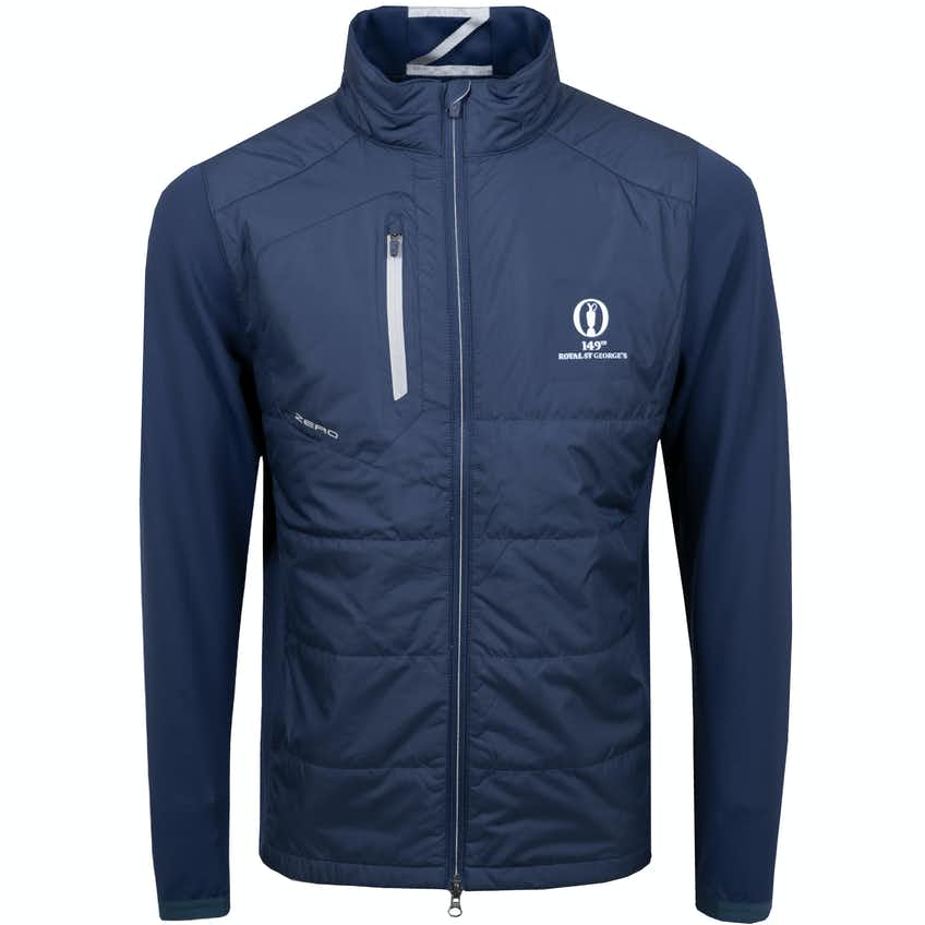 149th Royal St George's Zero Restriction Windproof Jacket - Navy