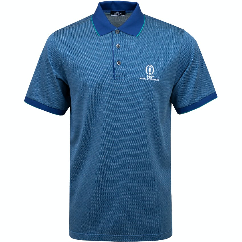 149th Royal St George's Marbas Patterned Polo Shirt - Blue 0