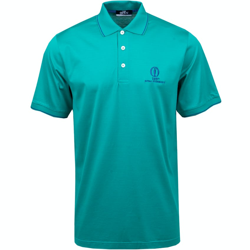 149th Royal St George's Marbas Plain Polo Shirt - Green