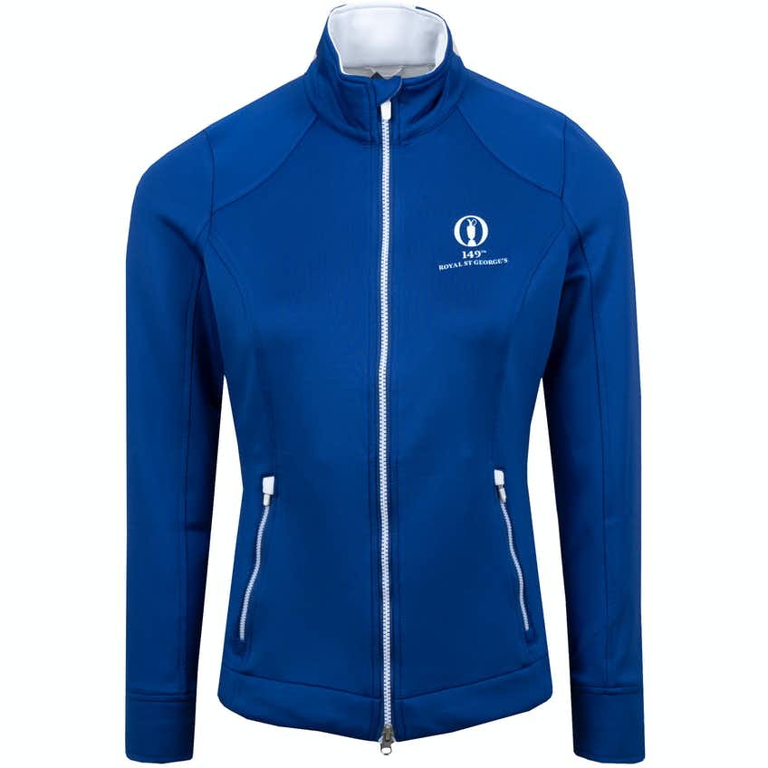 149th Royal St George's Zero Restriction Full-Zip Layer Sweater - Blue