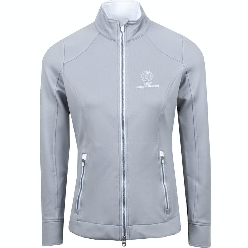 149th Royal St George's Zero Restriction Full-Zip Layer Sweater - Grey
