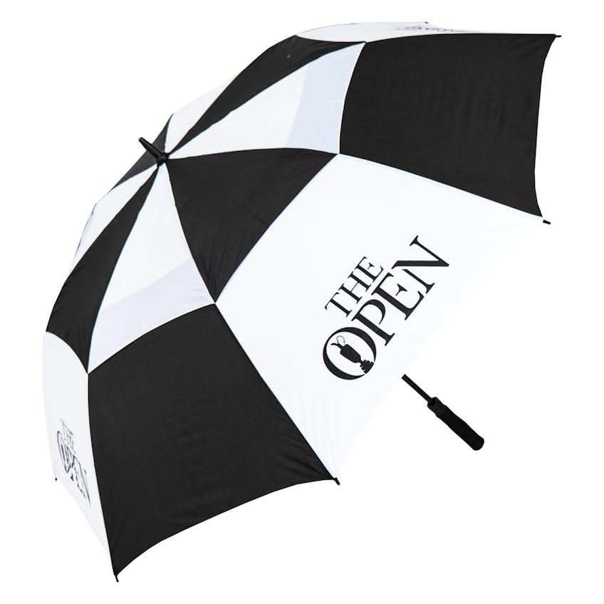 The Open Umbrella - Black and White 0