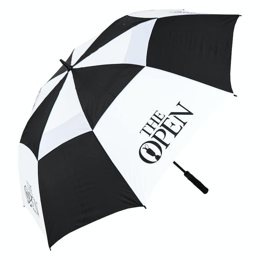 The Open Umbrella - Black and White