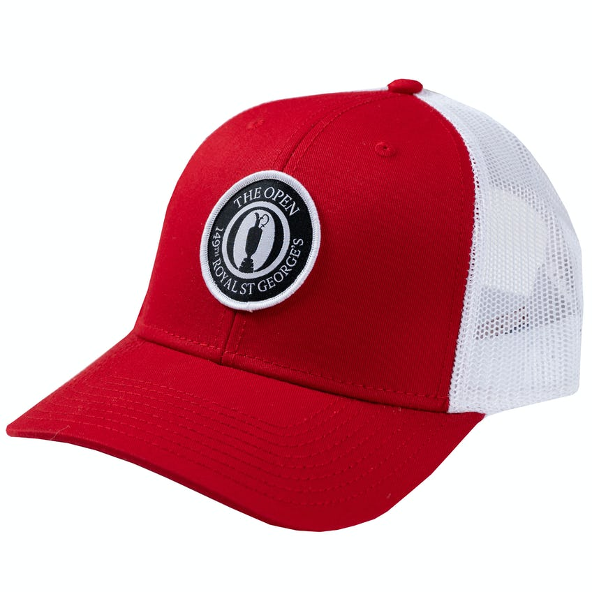 149th Royal St George's Trucker Baseball Cap - Red and White 0