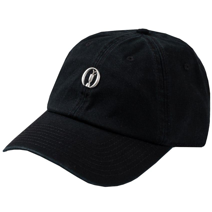 The Open Baseball Cap - Black 0