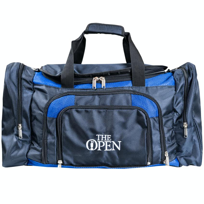 The Open Holdall Bag - Navy and Blue
