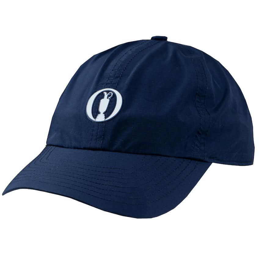 The Open Zero Restriction Waterproof Baseball Cap - Navy