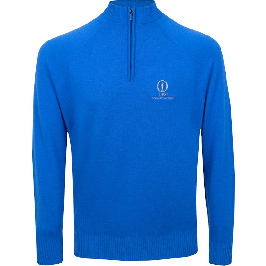 149th Royal St George's Glenbrae 1/4-Zip Sweater - Blue