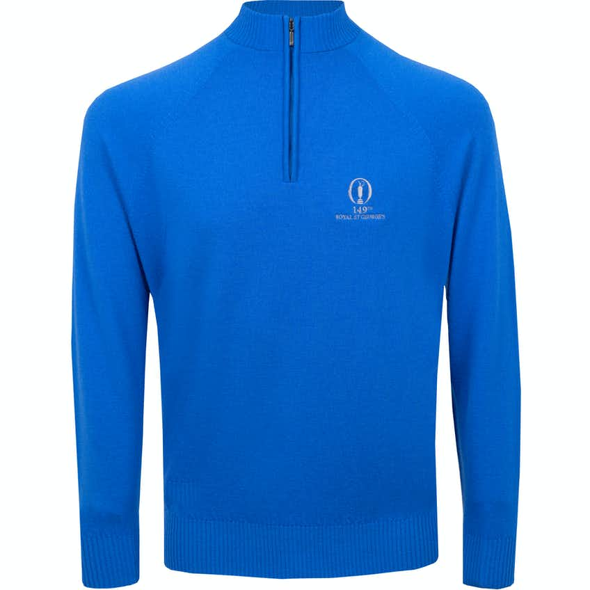 149th Royal St George's Glenbrae 1/4-Zip Sweater - Blue