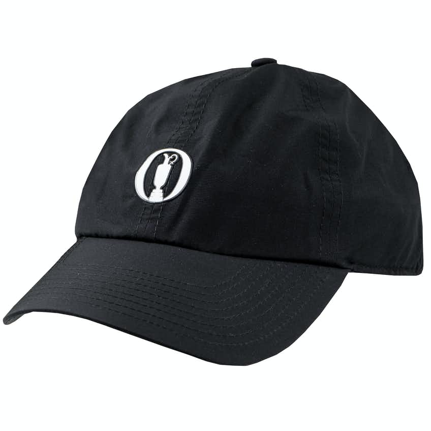 The Open Zero Restriction Waterproof Baseball Cap - Black
