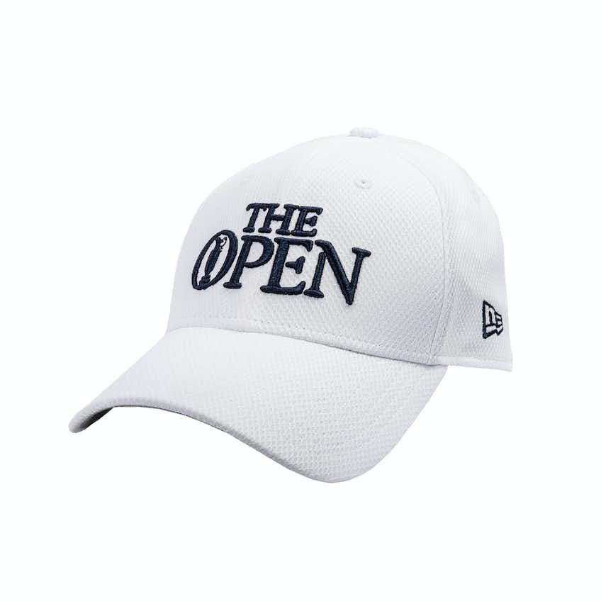 The Open New Era Baseball Cap - White
