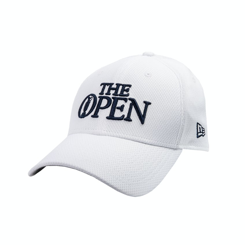 The Open New Era Baseball Cap - White 0