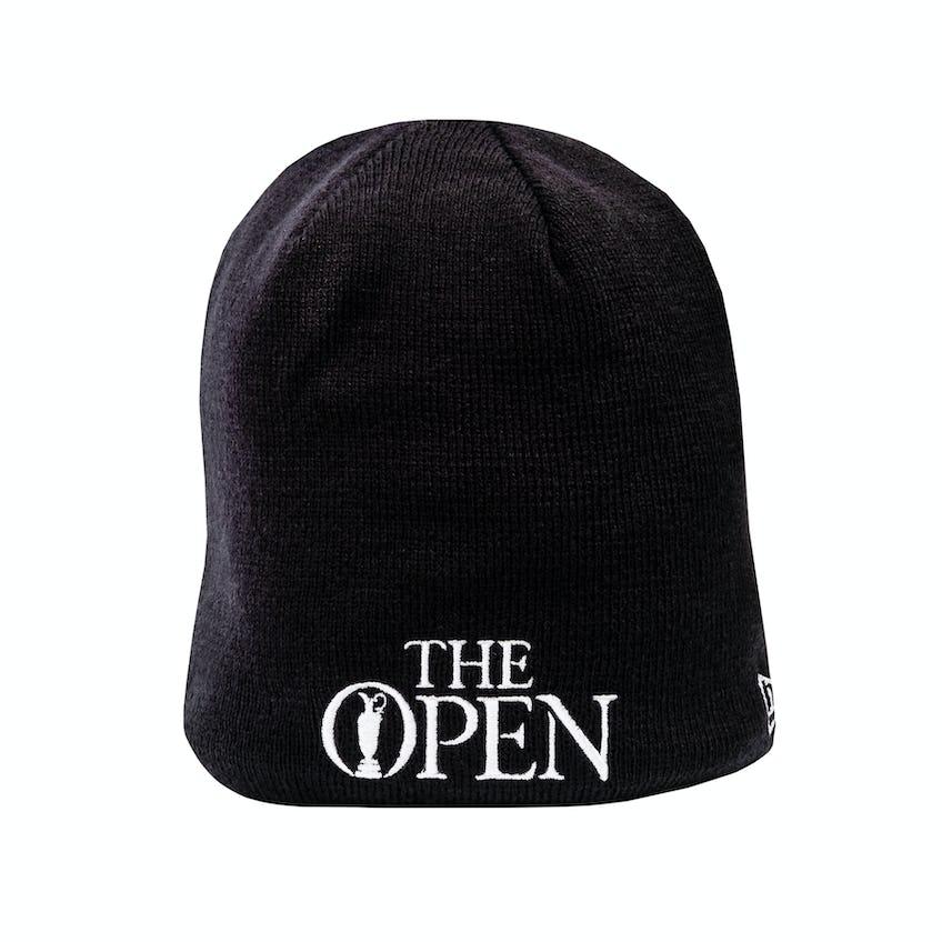 The Open New Era Beanie Hat - Navy 0
