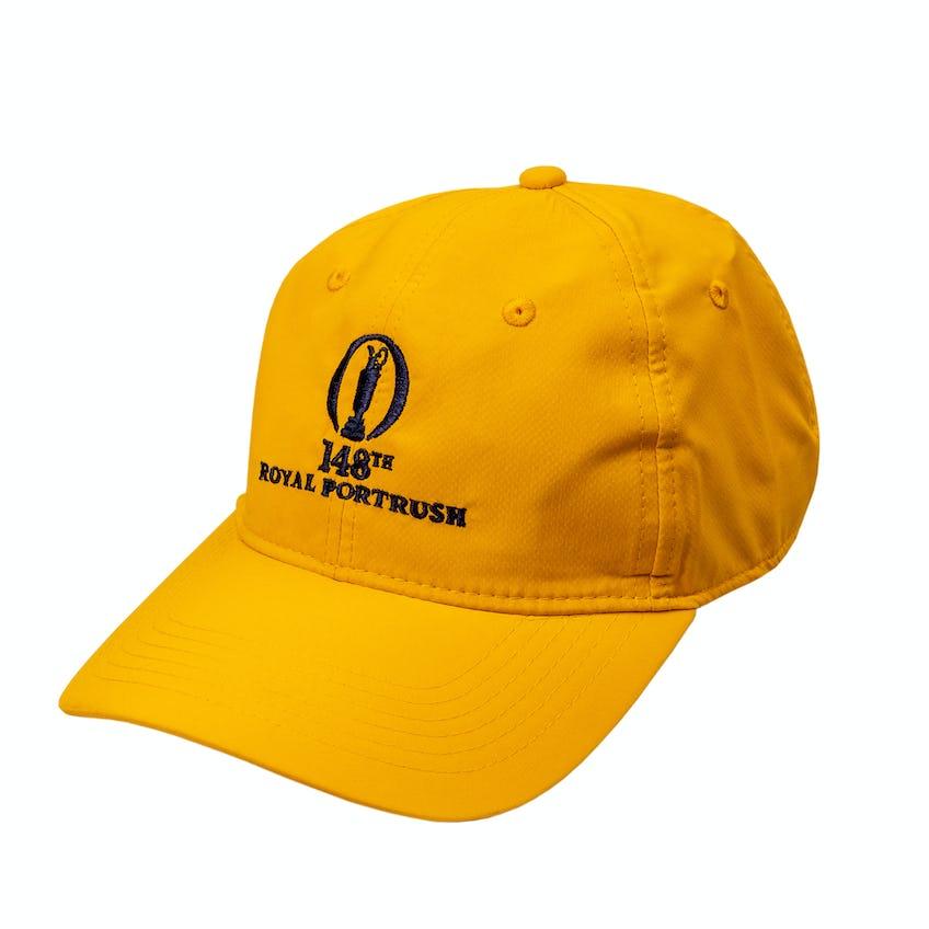 148th Royal Portrush Baseball Cap - Yellow
