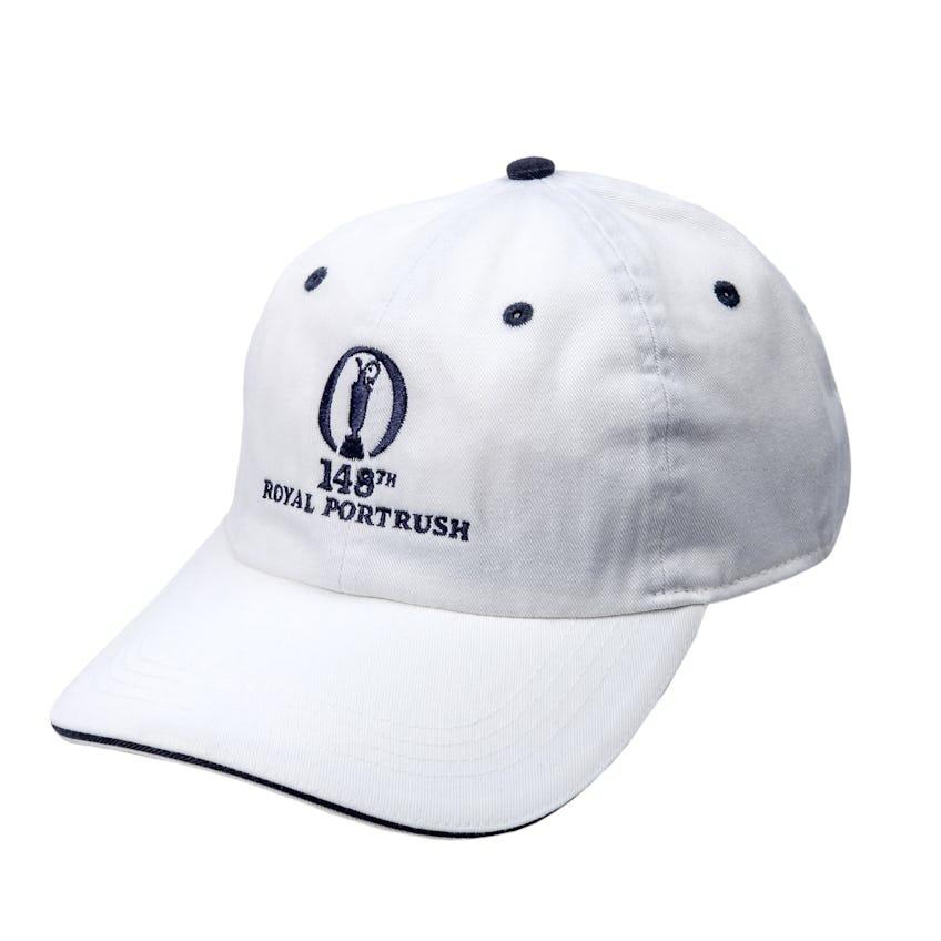 148th Royal Portrush Baseball Cap - White 0