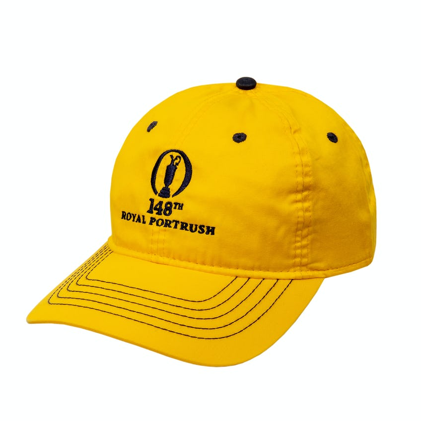 148th Royal Portrush Baseball Cap - Yellow 0