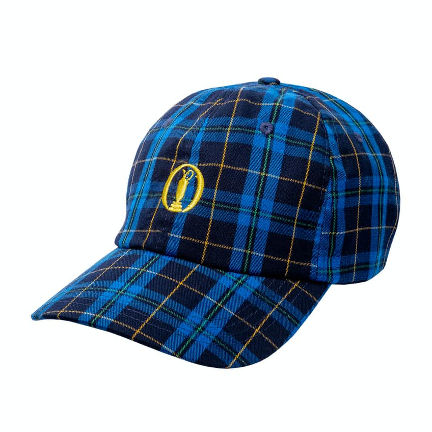 148th Royal Portrush Baseball Cap - Tartan