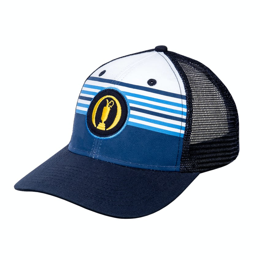 148th Royal Portrush Baseball Cap - Navy, Blue and White