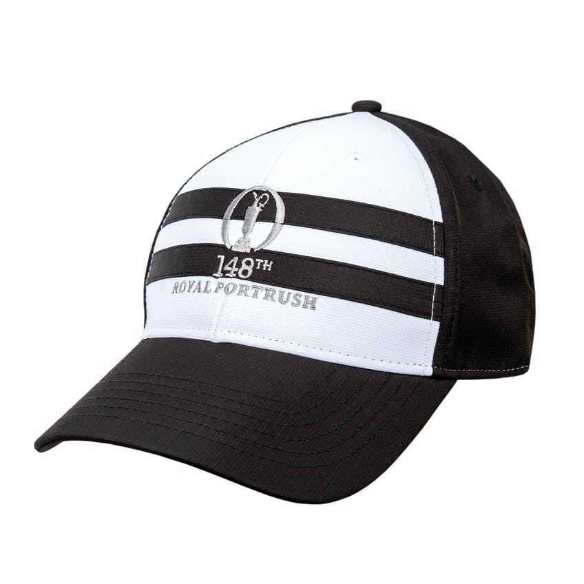 148th Royal Portrush Baseball Cap - White and Black