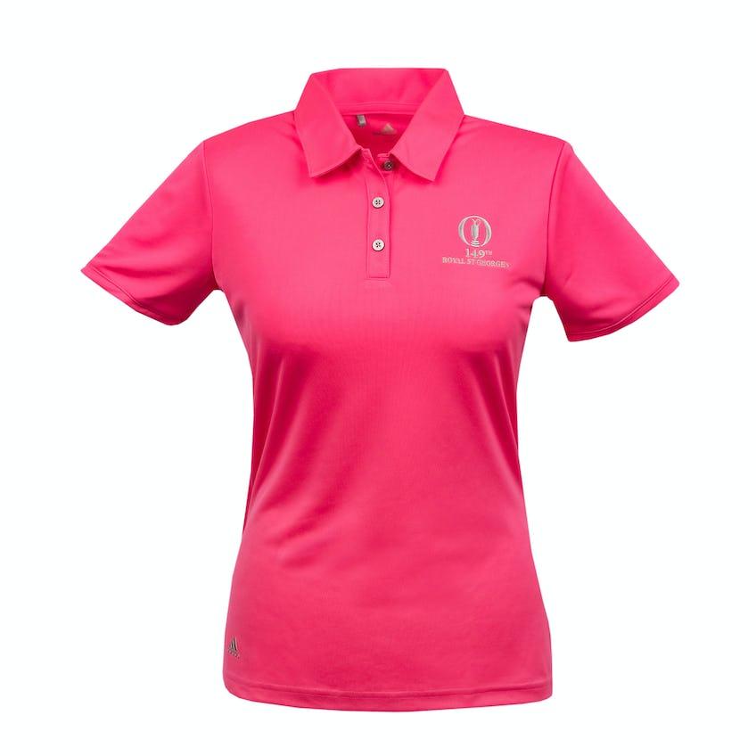 149th Royal St George's adidas Polo Shirt - Pink