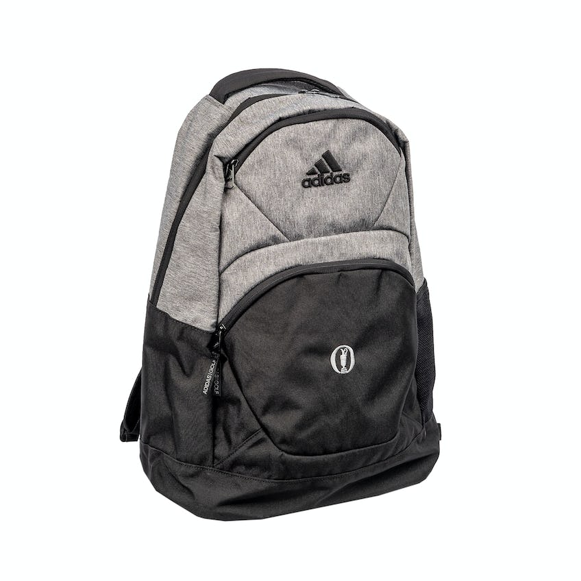 The Open adidas Medium Backpack - Black and Grey