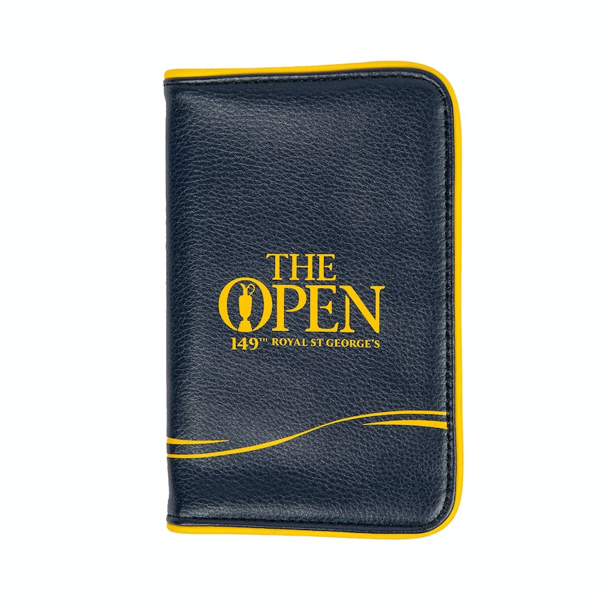 149th Royal St George's Scorecard Holder - Navy and Yellow